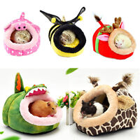 Small Animal Hamster Bed Hammock Rat Hedgehog Squirrel House Nest Pad For Cage