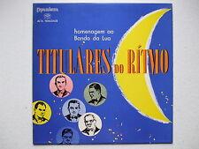 TITULARES DO RITMO - HOMENAGEM AO BANDO DA LUA LP MONO 1958 BRAZIL SAMBA BOSSA