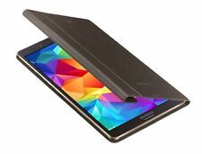 "GENUINE Samsung Galaxy TAB S 8.4"" TITANIUM BRONZE BOOK COVER  EF-BT700BSEG BOXED"