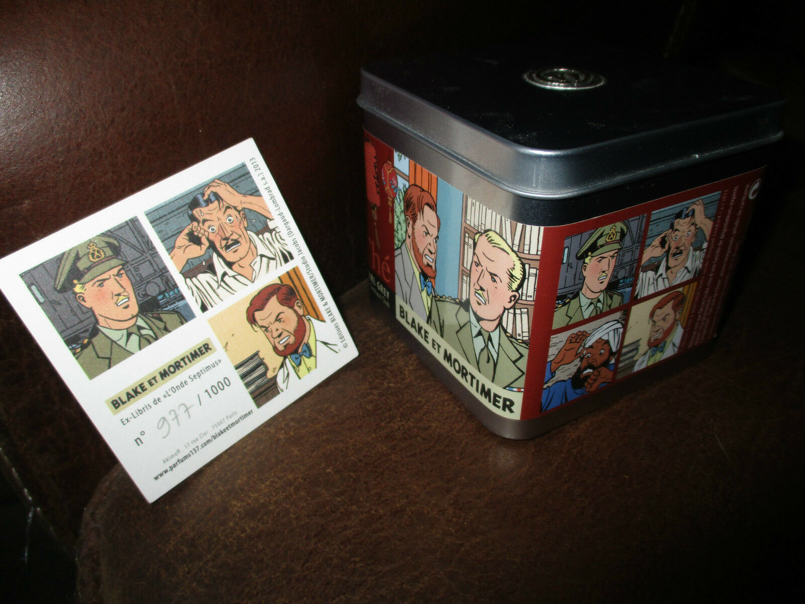 Blake & Mortimer-Box lithographed+ lithography numéredée-1000 copies