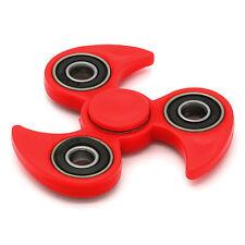 RED BLACK Hand Spinner Fidget Toy EDC Focus Ultra Durable High Speed NINJA STYLE