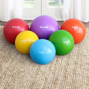 A2ZCare-Toning-Ball-Soft-Weighted-Mini-Medicine-Ball-Single-Pair-Set-2-3-4-5-6-8