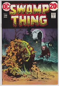 Swamp-Thing-4-VF-7-5-Len-Wein-Berni-Wrightson-Art-DC-Horror