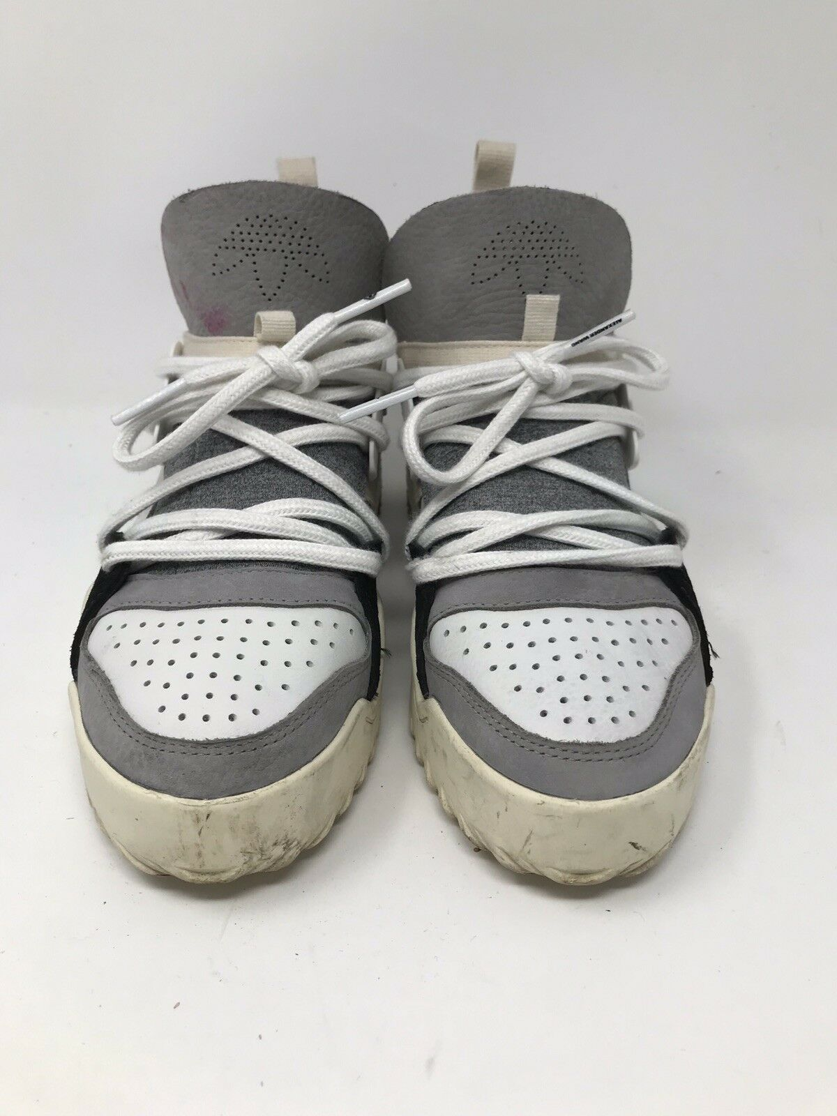 ALEXANDER WANG ADIDAS AW BBALL BOOST WHITE CM7824 SIZE 4.5 USED