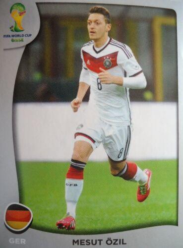 Panini P12 Mesut Özil Deutschland FIFA WM 2014 Brasilien
