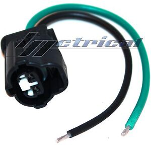 new alternator repair plug hanress 2 pin wire pigtail fits. Black Bedroom Furniture Sets. Home Design Ideas