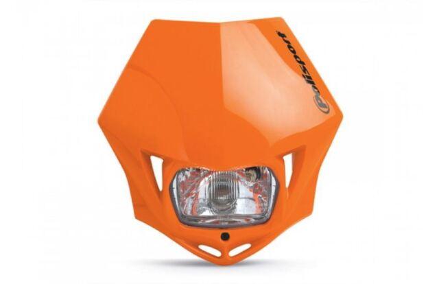 Polisport MMX Headlight Fairing Orange fits Honda CRM250 AR 97-99