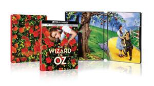 New-Sealed-The-Wizard-of-Oz-Steelbook-4K-Ultra-HD-Blu-ray-Digital-Code
