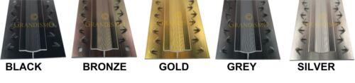 Carpet and Flooring Door Bars Multi Colour 90cm /& 2.7m Metal Threshold Strips