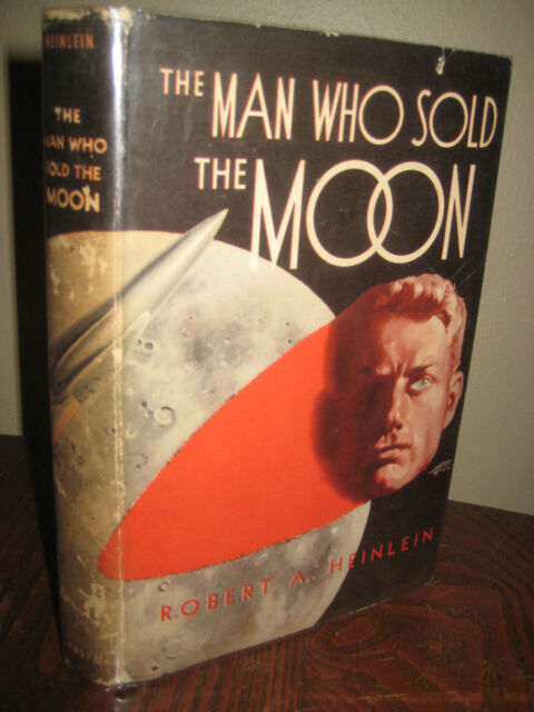 SIGNED Robert Heinlein MAN WHO SOLD MOON 1st Edition SCIENCE FICTION Fantasy