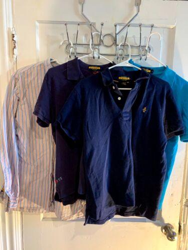 Rugby Ralph Lauren Men shirts lot of 4 Large L shi