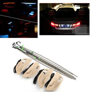DUAL-COLOR-veicolo-LED-luce-ambiente-PORTA-ATMOSFERA-INTERNO-LAMPADA-PER-BMW-F10-F11