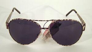 Sonnenbrille-Sunglasses-Pilot-Aviator-Sommer-Schutz-UV-400-Zebra-Metall-cool-NEU