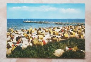 AK SCHARBEUTZ - Strand mit Seebrücke / Scharb 232-f / ca. 1979 - Forst, Deutschland - AK SCHARBEUTZ - Strand mit Seebrücke / Scharb 232-f / ca. 1979 - Forst, Deutschland