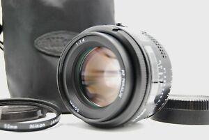 [Mint] Nikon AF Nikkor 50mm f/1.4 Filmkamera Objektiv + Tasche + Filter Japan #30037