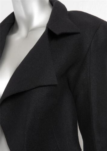 Nuovo Giacca Spesso 2 Corto Moderno Collezione Lana Feltro Klein Nero Calvin qRwvFOF