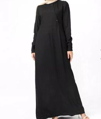Black Oriental E129 Abaya Box Simplycity £42 Size 99 Women L54 Rrp BawUqpU