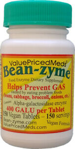 Beano - Bean-zyme 150 count is generic Beano Ultra 800 for less $ than Beano