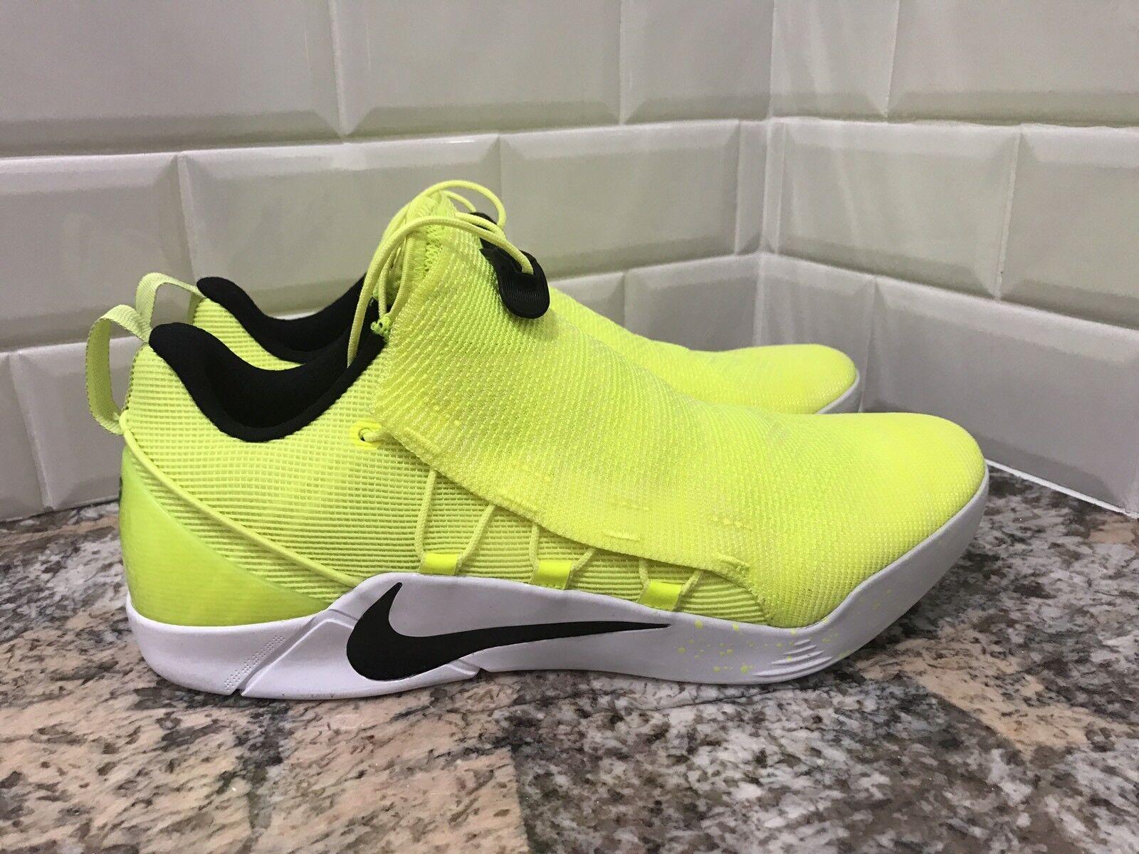 Nike Kobe A.D. NXT HMD Volt White Yellow Mamba Bryant Men's SZ 10 916832-710