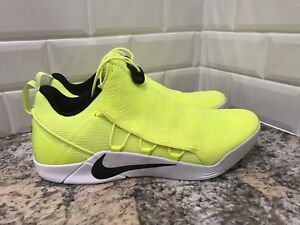 sports shoes 95f85 e0ffc Image is loading Nike-Kobe-A-D-NXT-HMD-Volt-White-Yellow-