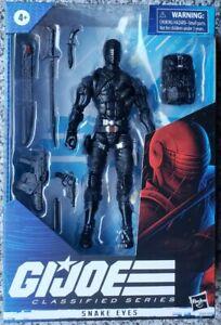 HOT-en-main-Gi-Joe-classees-serie-wave-1-SNAKE-EYES-ACTION-FIGURE-6-034-Hasbro
