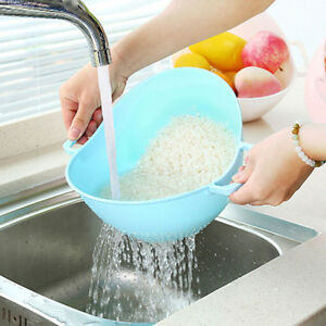 Rice-Washer-Strainer-Kitchen-Tools-Vegetable-Cleaning-Container-Basket-Pretty