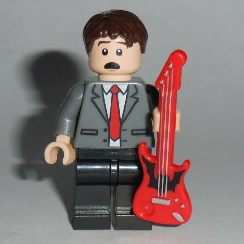 BACK TO THE FUTURE Lego Marty McFly 1955 w//guitar NEW Genuine Lego Parts #2
