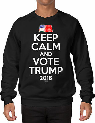 Election 2016 Crewneck Sweatshirt Trump For President Donald Trump