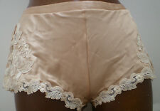 La Perla Maison Silk Seta Shorty Culotte Honey Light Gold Size I 2 S UK 12 D 38
