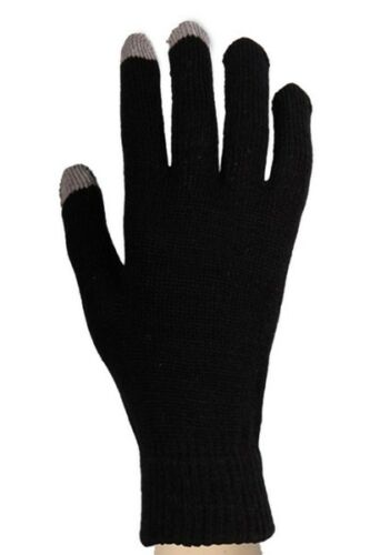 Yelete Women's Neon Solid Color Message Touch Texting Gloves