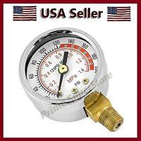 Bell Air Pressure Gauge Replacement Kit Air Tank Dial Meter