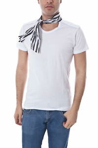 M4591e5033302 Shirt Maglietta Sweatshirt Alessandrini Daniele 2 Bianco Uomo T xz05dqfw0