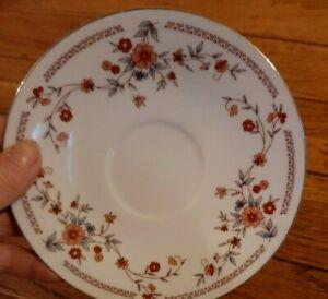VINTAGE Dynasty Copenhagen Fine China  4 Saucers