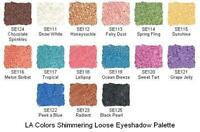 La Colors Shimmering Loose Eye Color Pick Your Color Free S&h