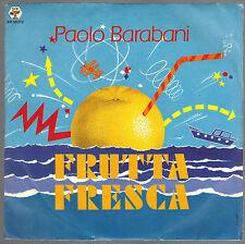 FRUTTA FRESCA - FRUTTA MATURA (instrumental) # PAOLO BARABANI