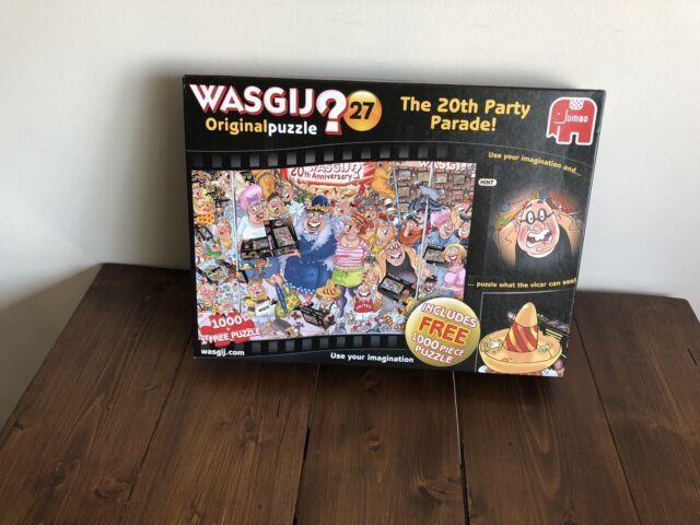 Wasgij Original 27 Jigsaw Puzzle - 1000 Pièces (inclut Extra Puzzle)