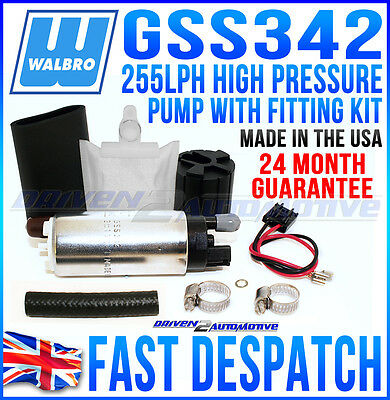 WALBRO 255 FUEL PUMP FIT TOYOTA STARLET TURBO EP82 EP91