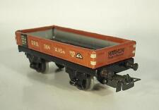 Märklin H0 364 Niederbordwagen Güterwagen Serie 800 ca. 40er Jahre Nr.5 #524