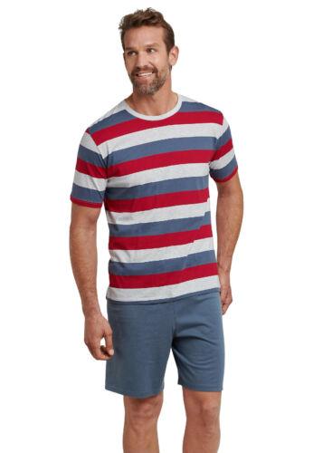 Schiesser Herren Shorty Schlafanzug Pyjama multicolor  Gr.48-64 NEU 2019