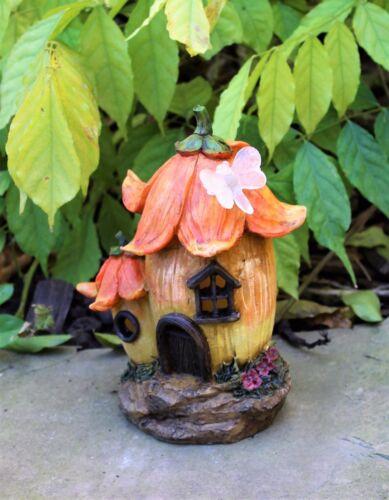 FIORI da GIARDINO Fata Fungo Casa Solare Ornamento Decorativo Regalo Segreto