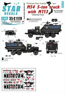 Star-Decals-1-35-Vietnam-Gun-Trucks-3-35c1178