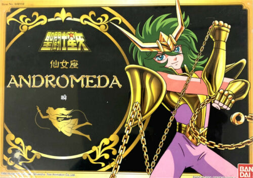 Bandai Saint Seiya Gold Myth Cloth Andromeda Shun HK Verion 1986 Vintage Figure