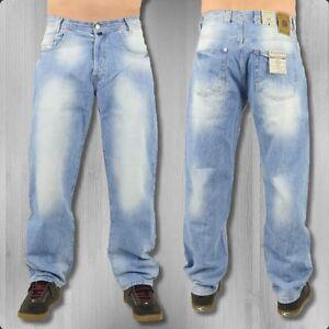 viazoni m nner jeans hose karotte harry light denim herren. Black Bedroom Furniture Sets. Home Design Ideas