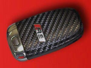 Audi-A4-8K-quattro-RS4-S4-RS-RS5-S5-cle-decor-key-decor-carbon-optic