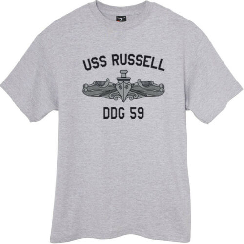 US USN Navy USS Russell DDG-59 Destroyer T-Shirt