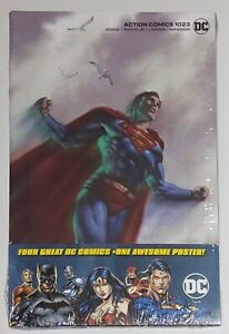 Action Comics #1023 Parrillo Variant SEALED Walmart (4 Pack)