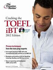 Cracking the TOEFL iBT with CD, 2012 Edition (College Test Preparation-ExLibrary
