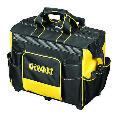 DeWalt ROLLING TOOL BAG 500mm DWST1-81060 Wide Top Opening 31 Pockets,USA Brand