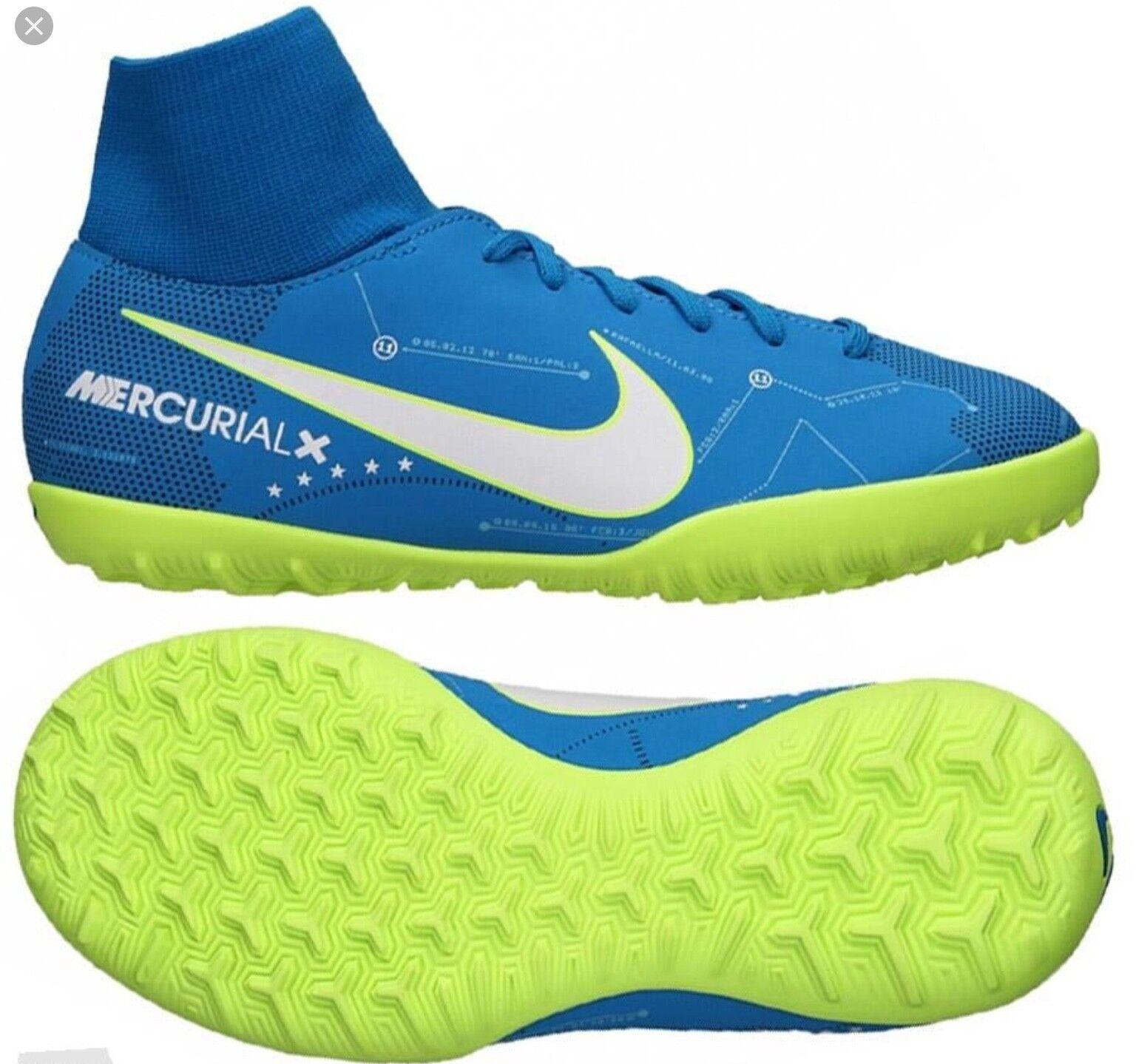 NIKE MERCURIALX VICTORY VI DF NJR IC Indoor Boot 921515 400 UK9.5 EU44.5 US10.5