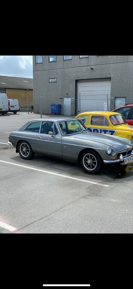 MG B, 1,8 GT Coupé, Benzin